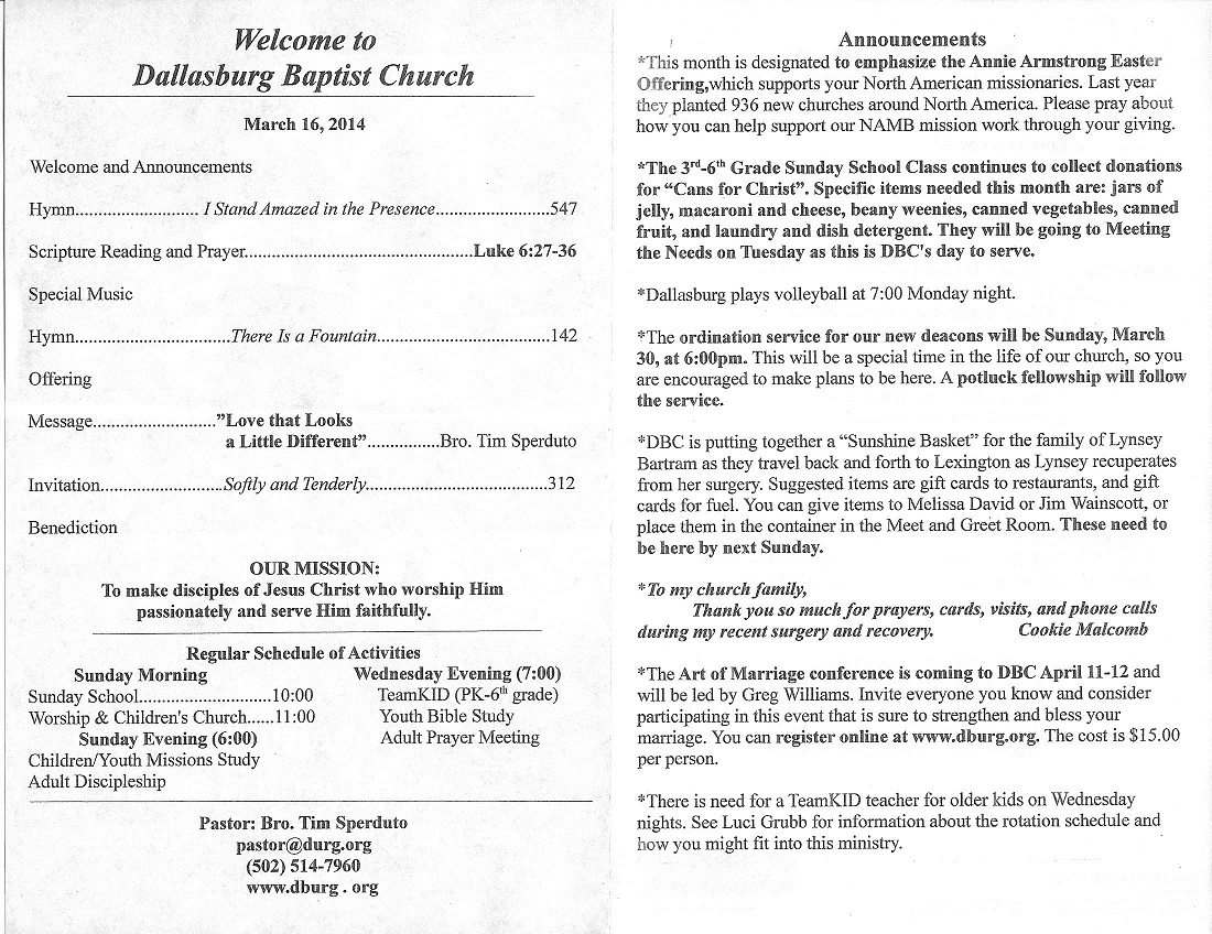 """Search Results for """"Baptist Ordination"""" – Calendar 2015"""